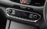 Hyundai i30 climate controls