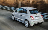 Abarth 595 Essesse 2019 first drive review - hero rear