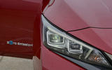 Nissan Leaf 62kWh 2019 UK first drive review - headlights