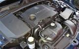 Twin-turbo 3.0-litre Jaguar XF Sportbrake diesel engine