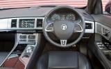 Jaguar XF Sportbrake dashboard
