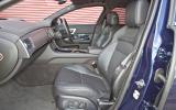 Jaguar XF Sportbrake front seats