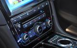 Jaguar XJ centre console