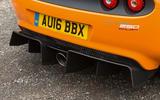 Lotus Elise Cup 250 rear diffuser
