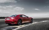 Maserati GranTurismo rear cornering
