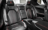 Maserati GranTurismo rear seats