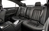 Mercedes-Benz CLS rear seats