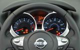 Nissan Juke instrument cluster