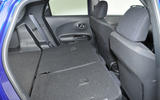 Nissan Juke seating flexibility