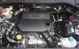 Peugeot Bipper Tepee engine bay