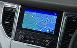 Porsche Macan Turbo infotainment system