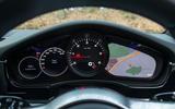 Porsche Panamera digital instrument cluster