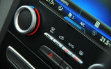 Renault Megane climate controls