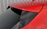 Renault Megane roof spoiler
