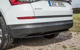 Skoda Kodiaq rear bumper