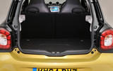 Smart Forfour boot space