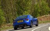Subaru BRZ rear cornering