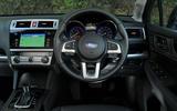 Subaru Outback dashboard