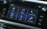 Subaru Outback infotainment system