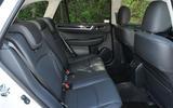 Subaru Outback rear seats