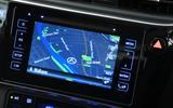 Toyota Auris Touring Sports infotainment