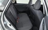 Toyota Auris Touring Sports rear seats