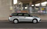Toyota Auris Touring Sports side profile