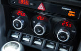 Toyota GT86 climate controls