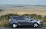 Toyota Prius+ side profile