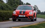 Volkswagen Beetle cornering