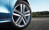 17in Volkswagen Jetta alloy wheels