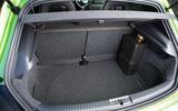 Volkswagen Scirocco R boot space