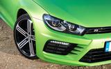 Volkswagen Scirocco R headlights