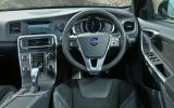Volvo V60 dashboard