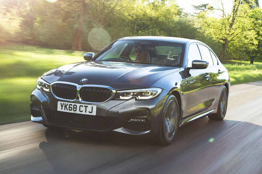 BMW 3 Series 320d 2019 Road Test review - hero front