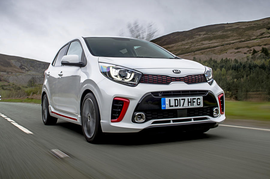 Kia Picanto review hero front
