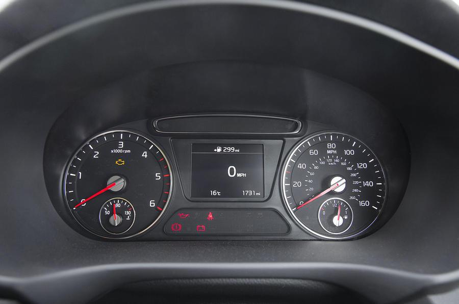 Kia Sorento 2018 road test review instrument cluster