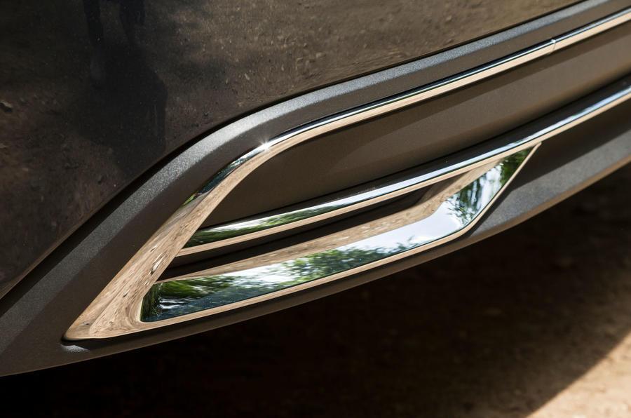 Audi A7 Sportback 2018 road test review exhaust trim