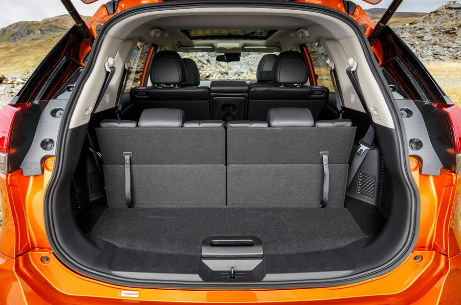 Nissan X-Trail road test review - boot