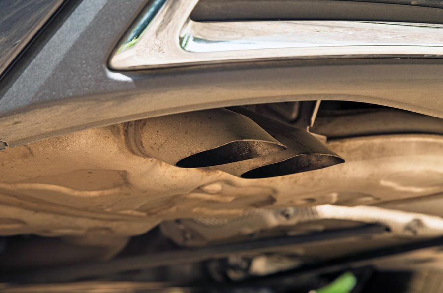 Audi A7 Sportback 2018 road test review exhausts
