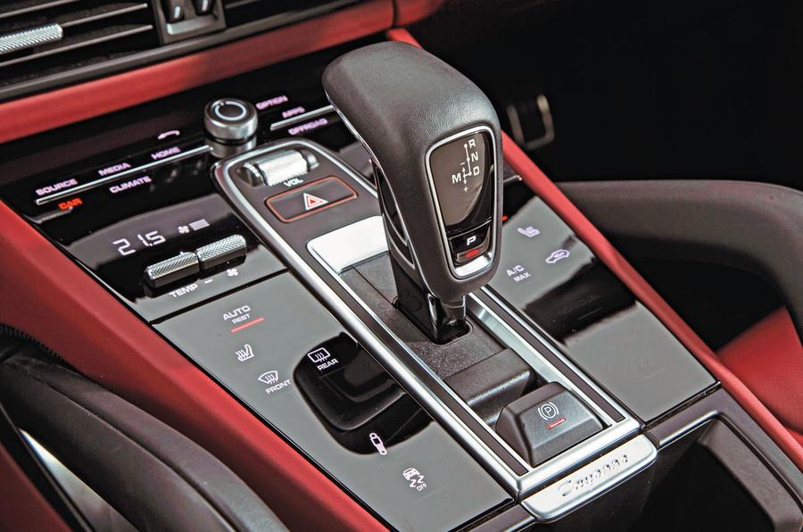 Porsche Cayenne Turbo 2018 road test review centre console