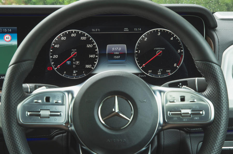 Mercedes-Benz G-Class 2019 road test review - instruments