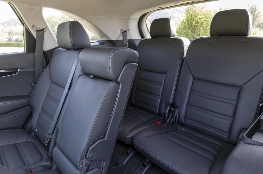 Kia Sorento 2018 road test review rear seats
