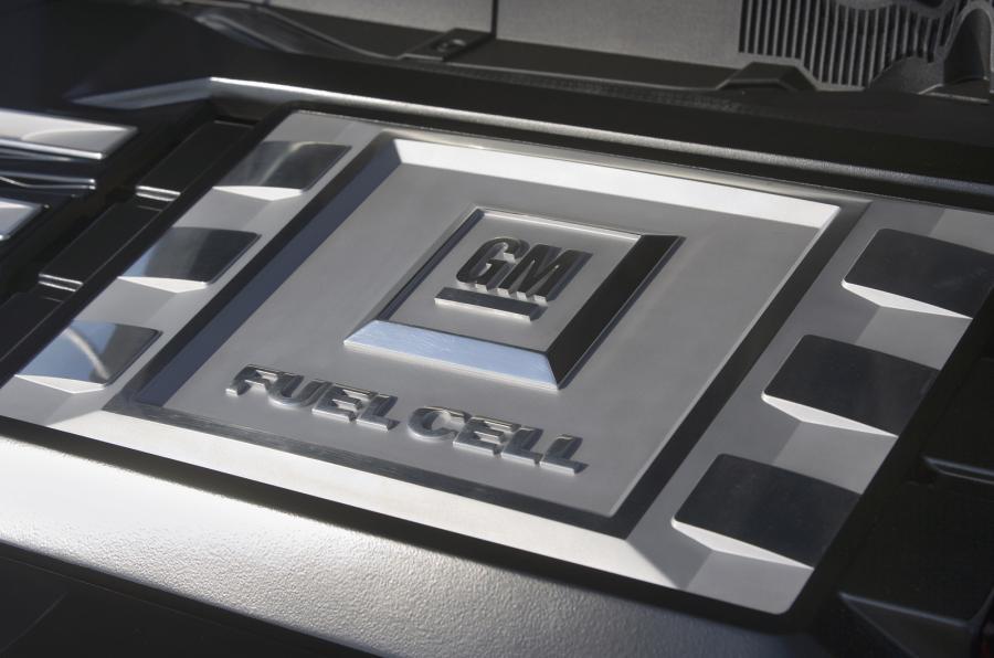 Vauxhall hydrogen engine block