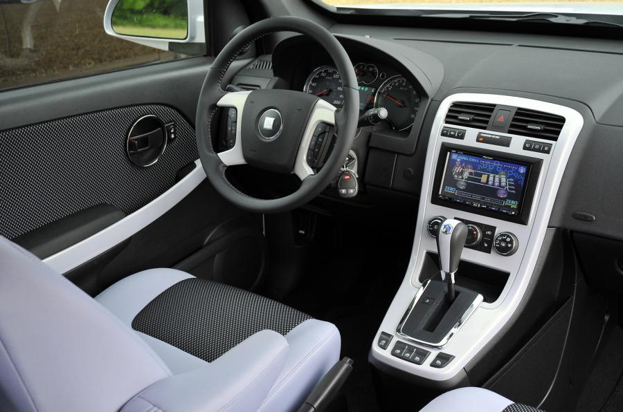 Vauxhall HydroGen4 dashboard