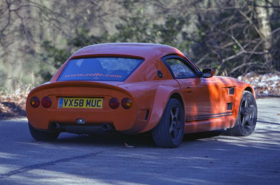 Zolfe Classic GTC4 rear cornering