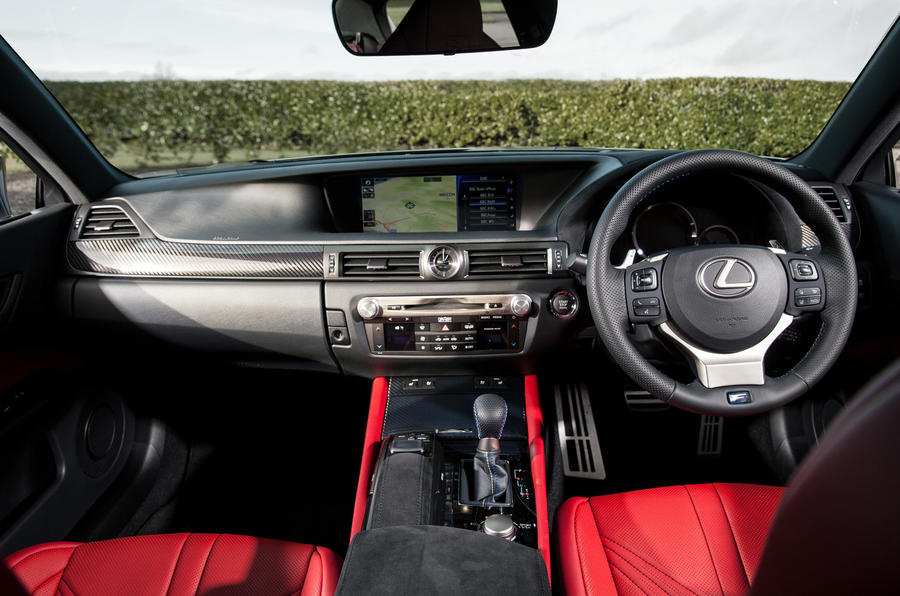 Lexus GS F dashboard