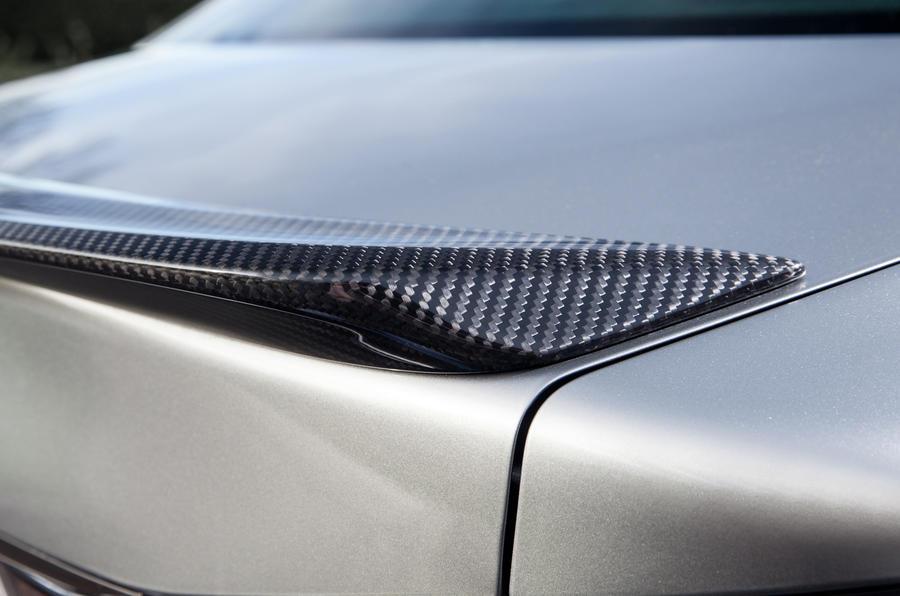 Lexus GS F rear spoiler