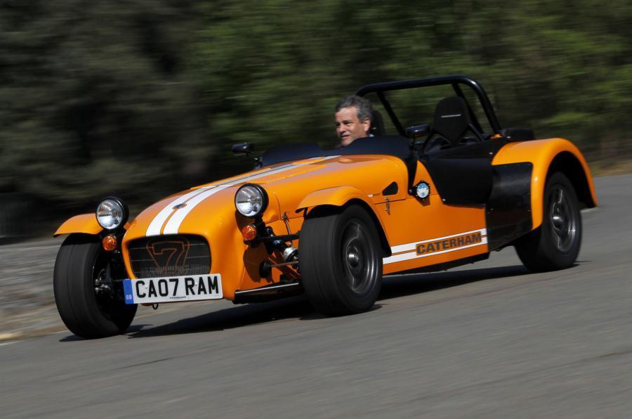 Caterham Seven Supersport cornering