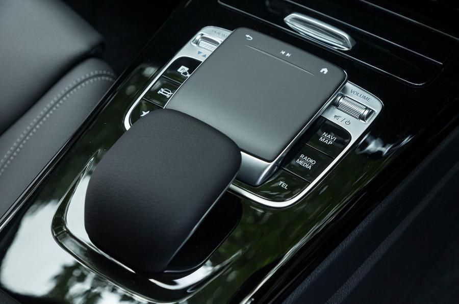 Mercedes-Benz A-Class 2018 road test review centre console